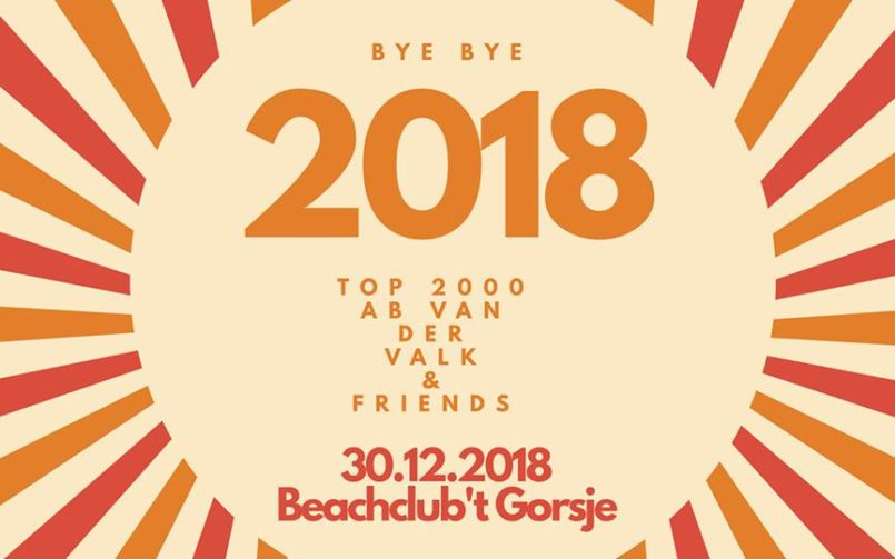 BYE BYE 2018 SUNDAY LOUNGE 2018 XL